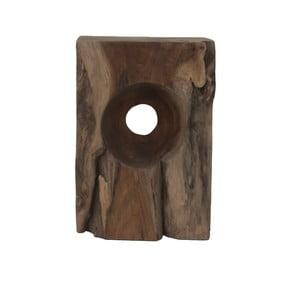 Stolička z teakového dřeva HSM Collection Hollow