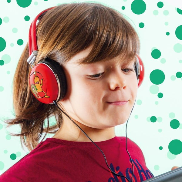 Dětská sluchátka InnovaGoods Playz Kids Little Monsters
