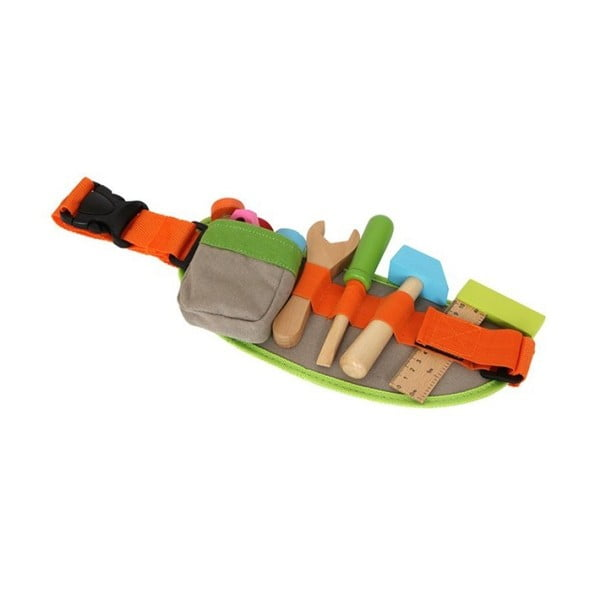 Dřevěná hrací sada pro malé kutily Legler Tool Belt