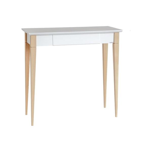 Bílý pracovní stůl Ragaba Mimo, šířka 65 cm