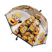 Dětský transparentní holový deštník Birdcage Minions, ⌀73cm