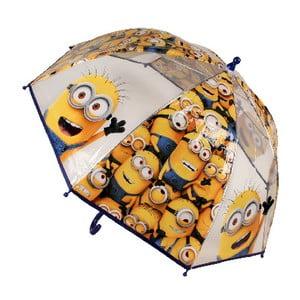 Dětský transparentní deštník Minions