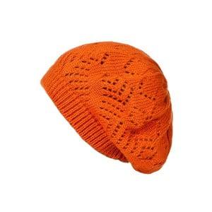 Oranžová čepice Lavaii Evelyn