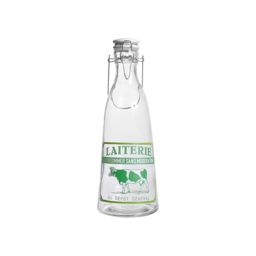 Skleněná lahev Comptoir de Famille Laiterie, 1l