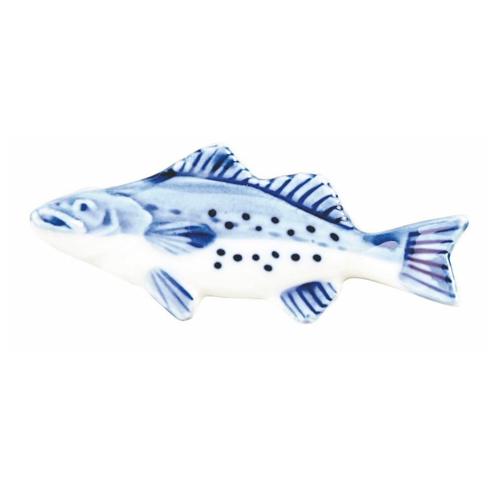 Porcelánový držák na čínské hůlky ve tvaru ryby Tokyo Design Studio Salmon