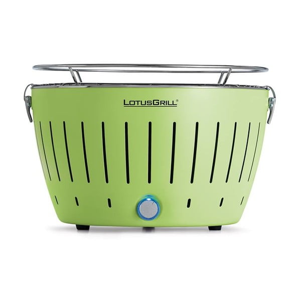 Bezkouřový gril LotusGrill Lime Green