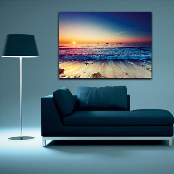 Obraz Tropical Paradise Sunset, 100 x 70 cm