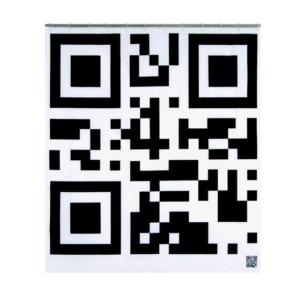 Sprchový závěs Flash Code, 200x180 cm