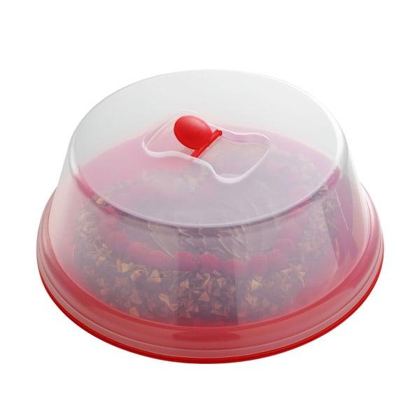 Cutie tort din plastic Premier Housewares, roșu