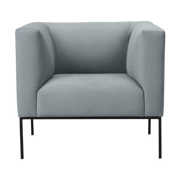 Světle šedé křeslo Windsor & Co Sofas Neptune
