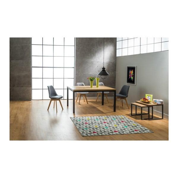 Jídelní stůl s konstrukcí z lakované oceli Signal Normano, délka180cm