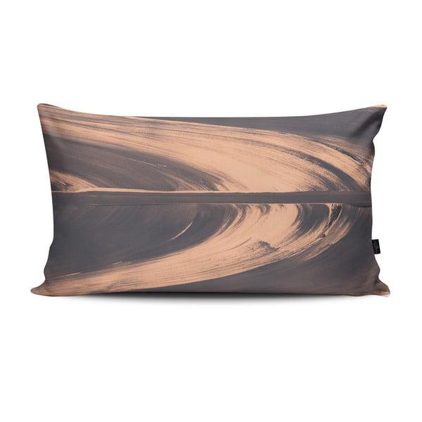 Polštář Elidvide Grey Pink, 47x28 cm