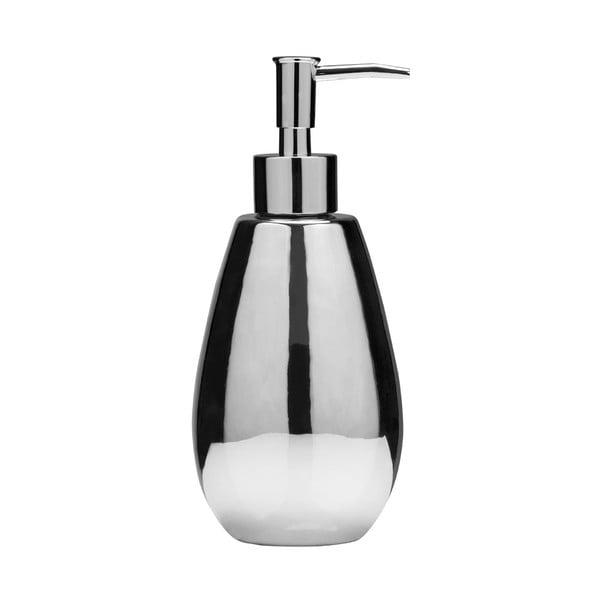 Dávkovač mýdla stříbrné barvy Premier Housewares Magpie
