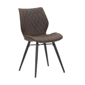 Sada 2 hnědých židlí Mauro Ferretti Underground