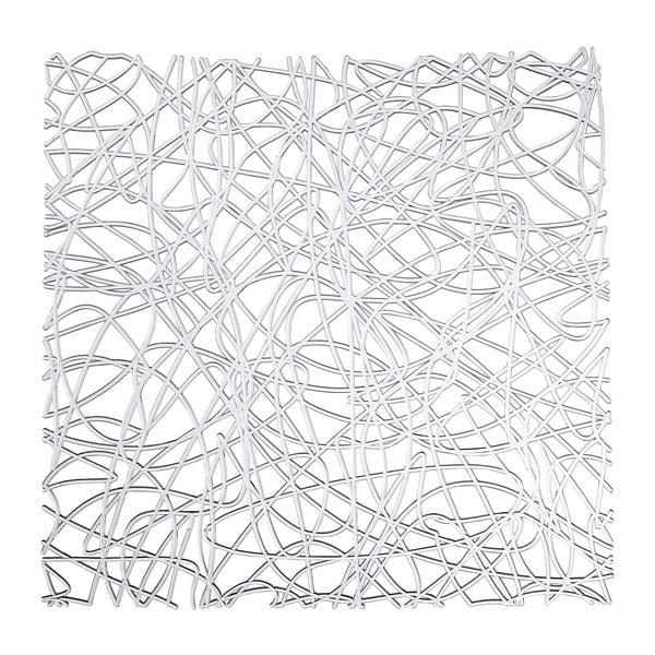 Suport transparent pentru chiuvetă Wenko Sink Mat Cross, 30,5 x 30,5 cm
