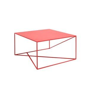 Červený konferenční stolek Custom Form Memo, šířka80cm