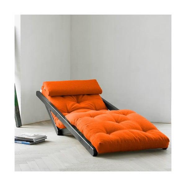 Lenoška Karup Figo Wenge/Orange, 70 cm