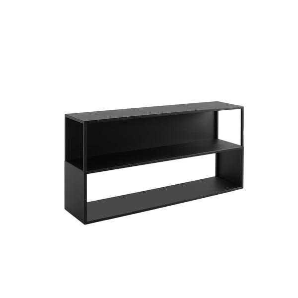 Bibliotecă Custom Form Hyller Side, înălțime 75 cm, negru
