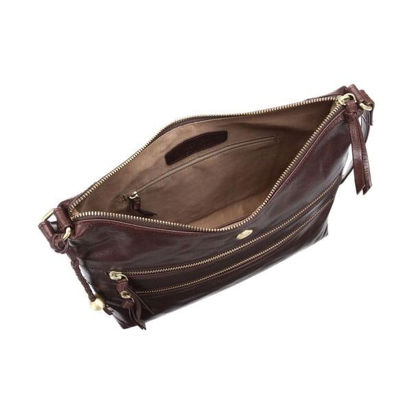 Dámská kožená taška Ginny Brown