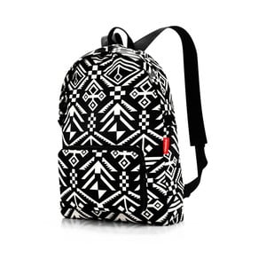 Černobílý batoh Reisenthel Hopi