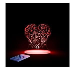 Lampă de veghe cu LED pentru copii, Aloka Loveheart