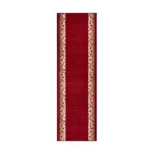 Covor  Basic Elegance, 80x450 cm, roșu