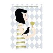 Plakát Víno stylově
