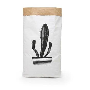 Coş depozitare din hârtie reciclată Surdic Candelabra Cactus poza