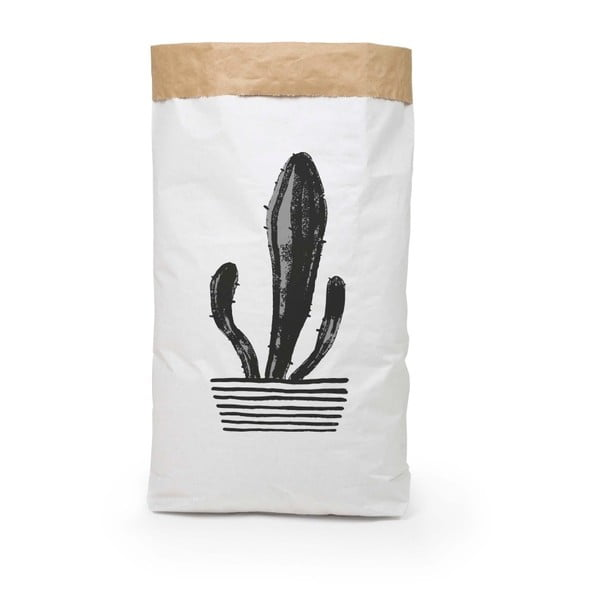 Coş depozitare din hârtie reciclată Surdic Candelabra Cactus