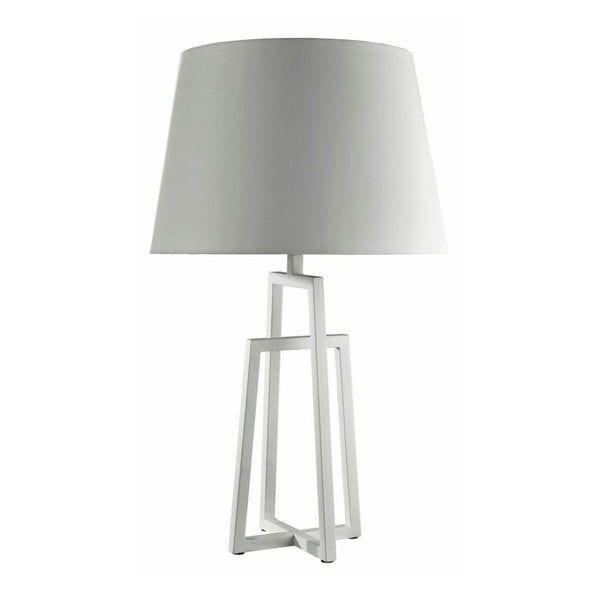 Stolní lampa White Tapered