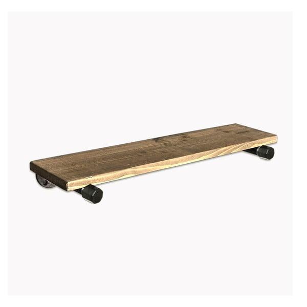 Raffik Pipe fali polc, fából