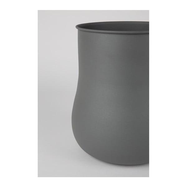 Šedá váza Zuiver Big Blob