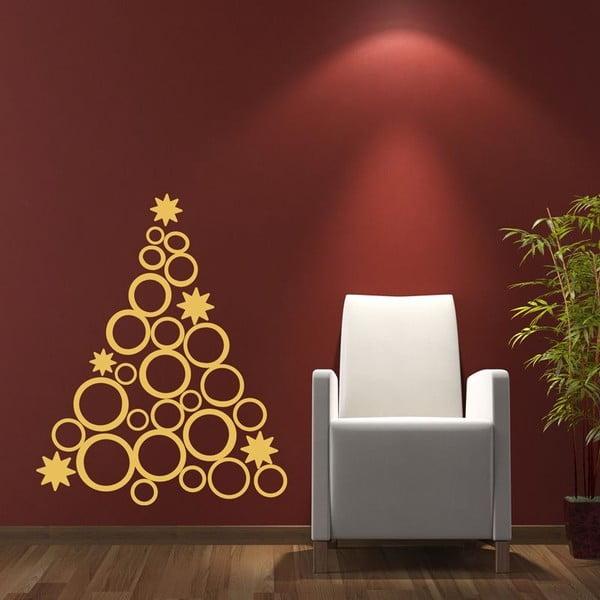 Vianočná samolepka Ambiance Christmas Tree Design