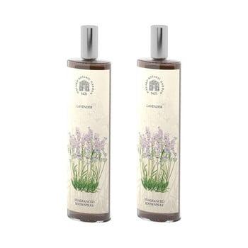 Set 2 spray-uri parfumate de interior cu aromă de lavandă Bahoma London Fragranced, 100 ml de la Bahoma London