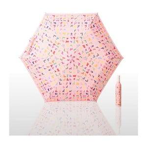Skládací deštník John HO, pink