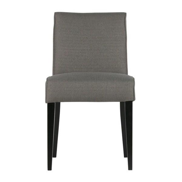 Sada 2 šedých židlí WOOOD Roos