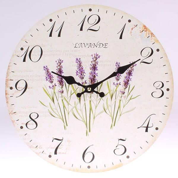 Nástěnné hodiny Lavande Clock