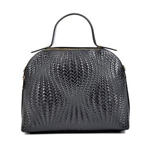 Černá kožená kabelka Isabella Rhea Julia