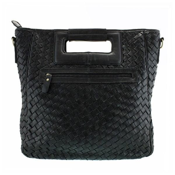 Kožená kabelka Lisa Minardi 9999 Black