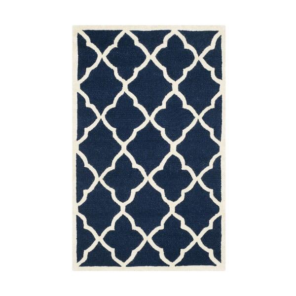 Tmavě modrý koberec Safavieh Noelle, 182x121cm