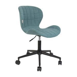 Modrá kancelářská židle Zuiver OMG