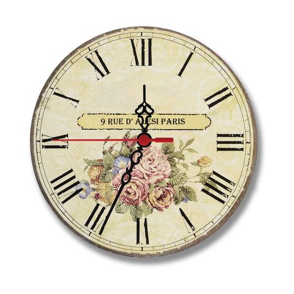 Nástěnné hodiny Rue Paris, 30 cm