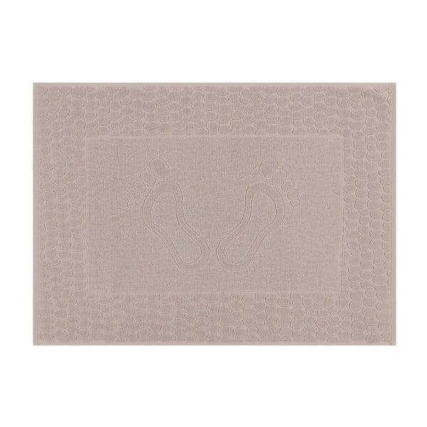 Světle hnědá koupelnová předložka Pastela, 70x 50cm