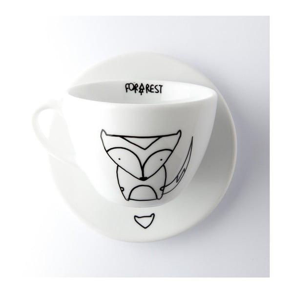 Hrnek na kávu Fox, 200 ml