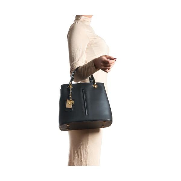 Kožená kabelka Gemma, černá