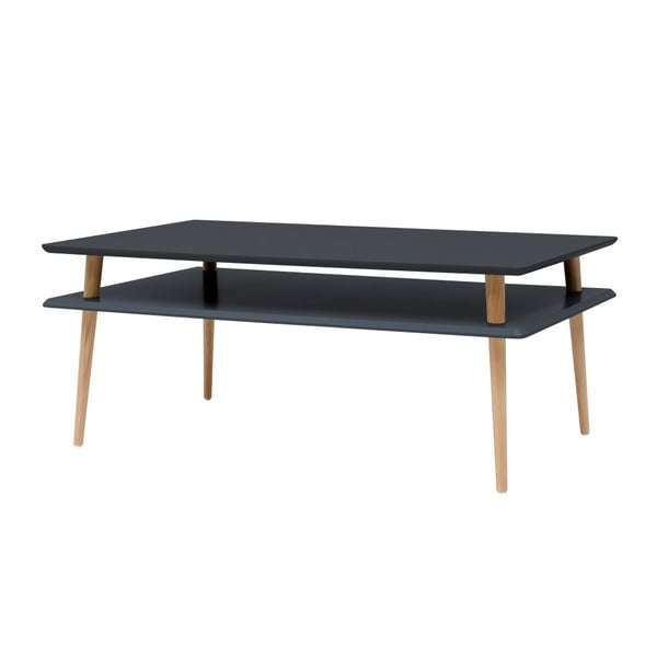 Grafitově šedý konferenční stolek Ragaba KORO