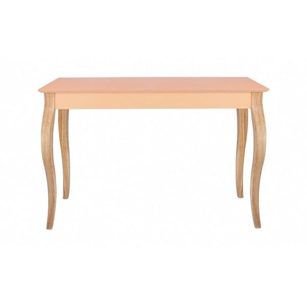 Konzolový stolek Dressing Table 150x74 cm, oranžový
