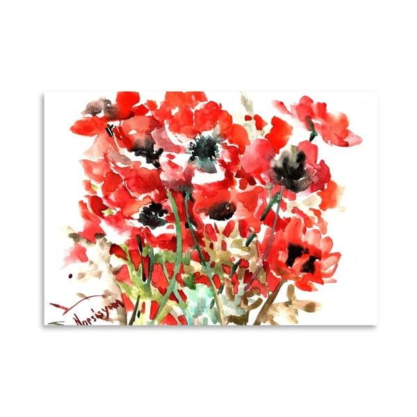 Plakát Anemones Red od Suren Nersisyan