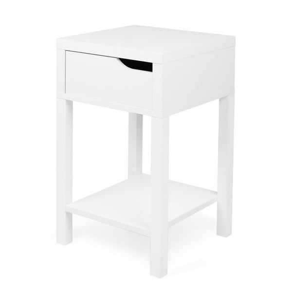 Noční stolek Side Table White
