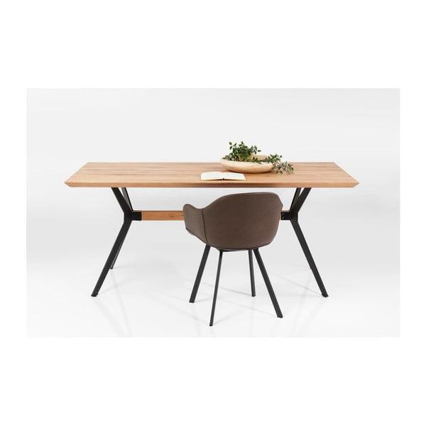 Jídelní stůl z dubového dřeva Kare Design Downtown, 180 x 90 cm